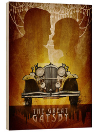 Holzbild  The Great Gatsby - Albert Cagnef