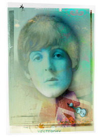 Acrylglasbild  paul mccartney - Daniel Matzenbacher