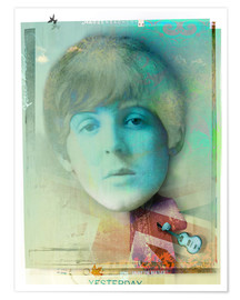 Premium-Poster  paul mccartney - Daniel Matzenbacher