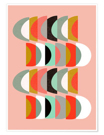 Premium-Poster  WHAT COLOR IS THE MOON II 01 - Susana Paz