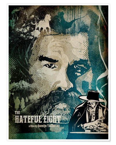 Premium-Poster Hateful Eight