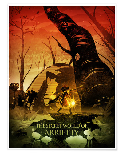 Poster Arrietty Color