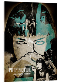 Acrylglas  Pulp Fiction - Albert Cagnef