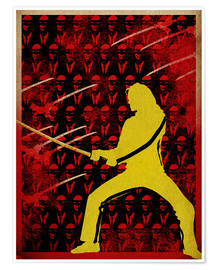 Premium-Poster  Kill Bill - Albert Cagnef
