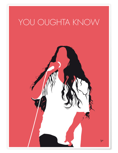 Premium-Poster Alanis Morissette - You Oughta Know