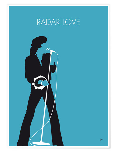 Premium-Poster Golden Earring - Radar Love