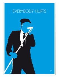 Premium-Poster R.E.M. - Everybody Hurts