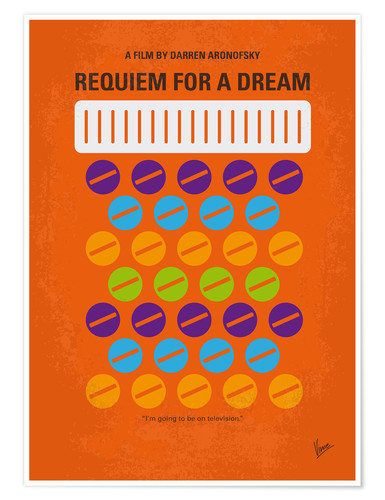 Premium-Poster Requiem For A Dream