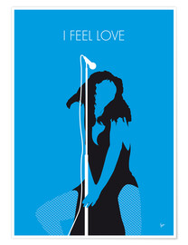 Premium-Poster Donna Summer - I Feel Love