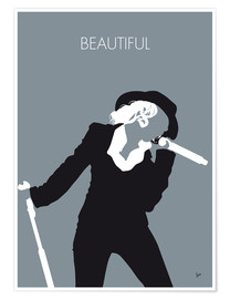 Premium-Poster Christina Aguilera - Beautiful