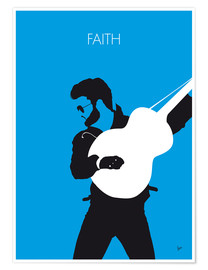 Premium-Poster George Michael - Faith