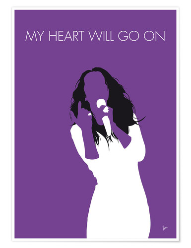 Premium-Poster Celine Dion - My Heart Will Go On