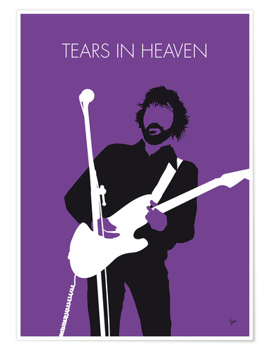 Premium-Poster Eric Clapton - Tears In Heaven