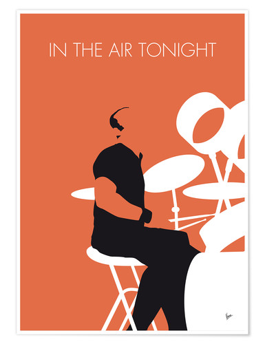 Premium-Poster Phil Collins - In The Air Tonight