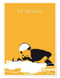 Premium-Poster Grandmaster Flash - The Message