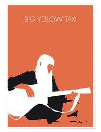 Premium-Poster Joni Mitchell - Big Yellow Taxi