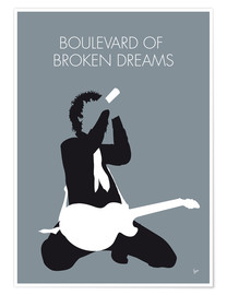 Premium-Poster Green Day - Boulevard Of Broken Dreams
