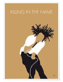Premium-Poster  Rage Against The Machine - Killing In The Name - chungkong