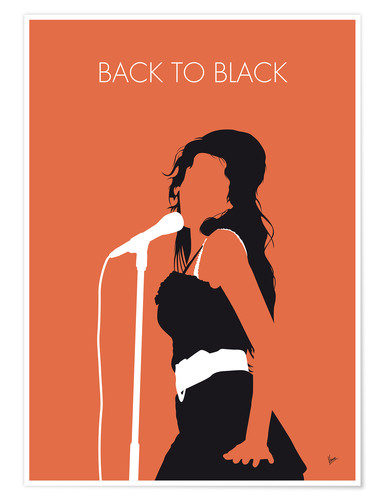 Premium-Poster Amy Winehouse - Back To Black