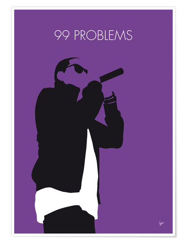 Premium-Poster Jay-Z - 99 Problems