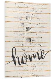 Forex  TEXT ART You are my home - Melanie Viola
