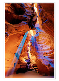 Poster Upper Antelope Canyon Beam