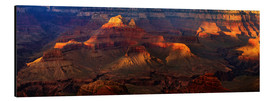 Alubild  Grand Canyon Einblick - Michael Rucker