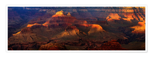 Poster Grand Canyon Einblick
