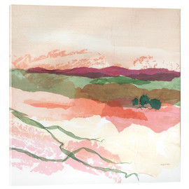 Acrylglasbild  MountainSunset - Jan Sullivan Fowler