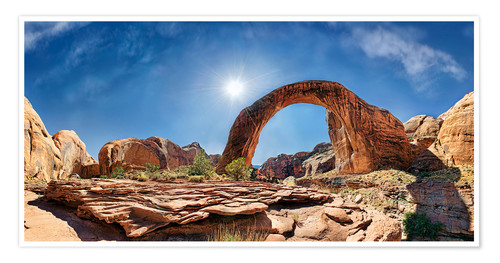 Premium-Poster Rainbow Bridge, Lake Powell, USA
