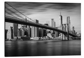 Dennis Fischer - New York City - Brooklyn Bridge and Skyline