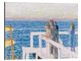 Alubild  Das Dock in Cannes - Pierre Bonnard