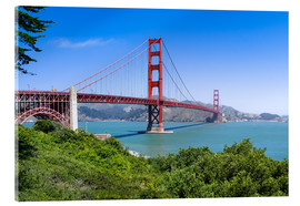 Acrylglasbild  Golden Gate Bridge in San Francisco, Kalifornien, USA - Jan Christopher Becke