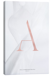 Leinwandbild  ROSE GOLD LETTER COLLECTION A - Stephanie Wünsche