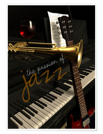 Premium-Poster passion of Jazz