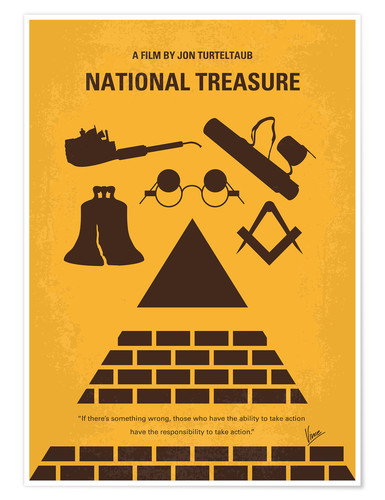 Premium-Poster National Treasure