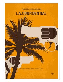 Poster No866 My LA Confidential minimal movie poster