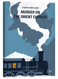 Leinwandbild  Murder On The Orient Express - chungkong
