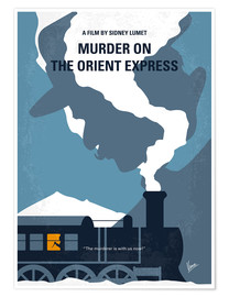 Premium-Poster Murder On The Orient Express