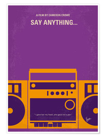 Premium-Poster Say Anything...