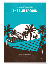 Premium-Poster The Blue Lagoon