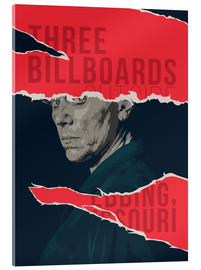 Acrylglas  three billboards outside ebbing missouri - Fourteenlab