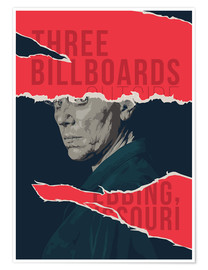 Premium-Poster three billboards outside ebbing missouri