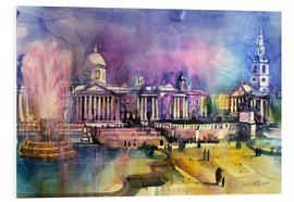 Hartschaumbild  London, Trafalgar Square - Johann Pickl