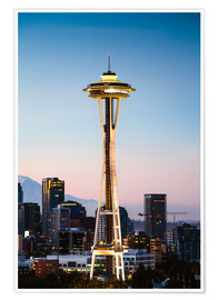 Premium-Poster  Die Space Needle, Seattle, USA - Matteo Colombo