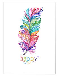 Premium-Poster  Happy - MiaMia