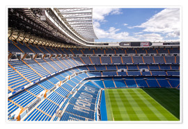 Poster  Stadion in Madrid