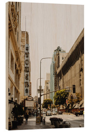 Holzbild  Downtown Los Angeles III - Pascal Deckarm