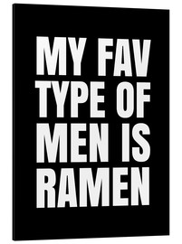 Alubild  My Fav type of men is ramen - Creative Angel