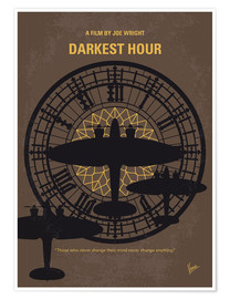 Premium-Poster Darkest Hour